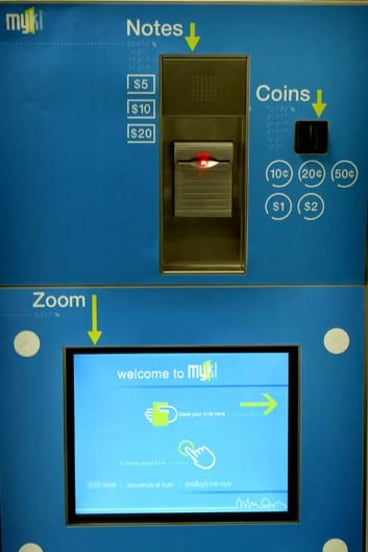 Myki vending machines bought for 500 trams will never be used.