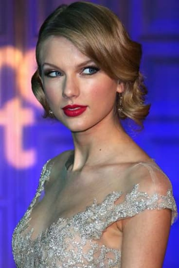 Stadium tour: Taylor Swift, pictured in London on Tuesday.