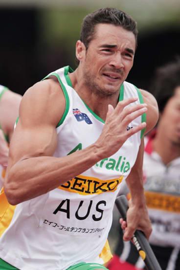 Going to London: Sprinter Joshua Ross.