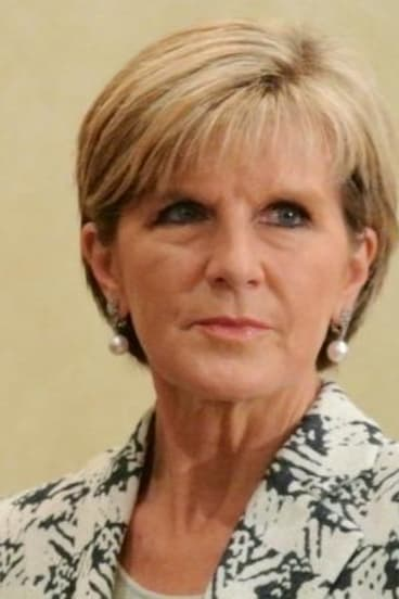 """Foreign Minister Julie Bishop has reiterated there is """"no intention"""" of sending Australian ground combat troops into Iraq or Syria."""