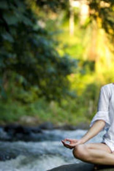 Inner peace … yoga and meditation retreats drive tourism in Ubud.