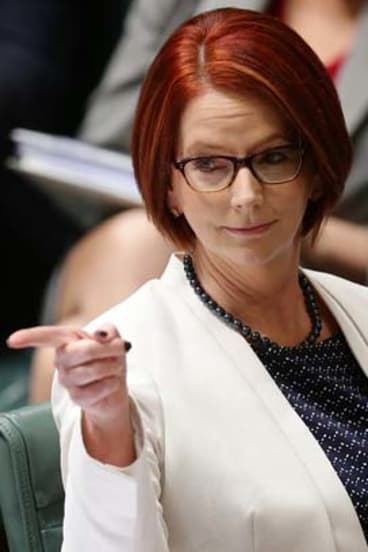 """I want us to be a nation where [there is] equal opportunity for everyone at every time in their life"": Prime Minister Julia Gillard."