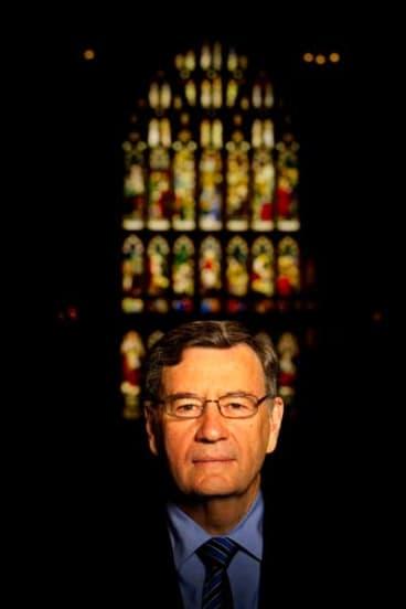 A bright new light: New Archbishop Glenn Davies.