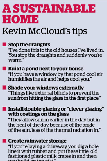 Kevin McCloud's tips for a sustainable home.