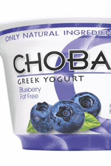 Chobani yoghurt is racing off US shelves.
