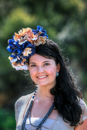 Get a group together to create your own headpieces with a Jill Humphries' millinery workshop.