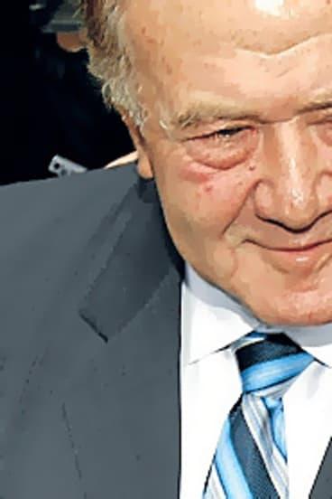 The late Visy tycoon Richard Pratt: cash for inside information.