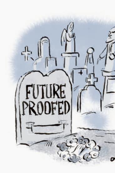 Cartoon by Andrew Dyson.