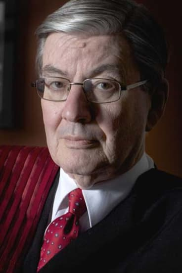 Rise in hostility: Justice David Collier.