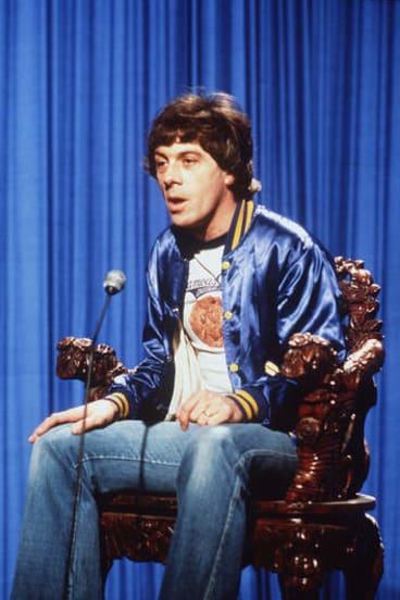 Yesterday's hero … in his <i>Countdown</i> prime in the 1970s.