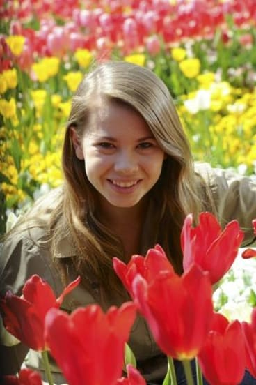 Famous face: Personalities such as Floriade ambassador Bindi Irwin are credited with boosting the popularity of the event.