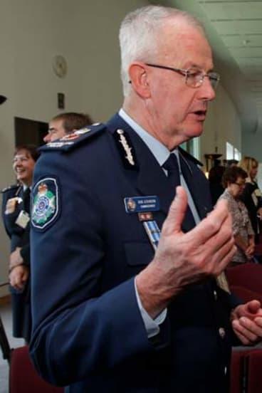 Former Queensland police commissioner Bob Atkinson.