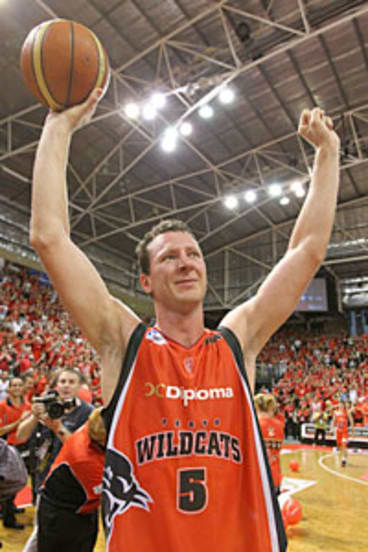 Martin Cattalini says he leaves the Wildcats on a high note - winning the NBL championship in front of his home crowd.