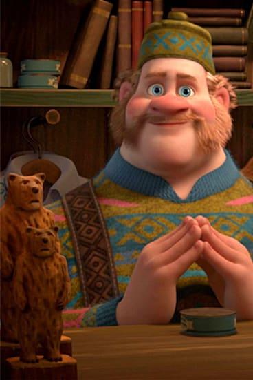 Gay? ... Sauna owner Oaken in <i>Frozen</i>.