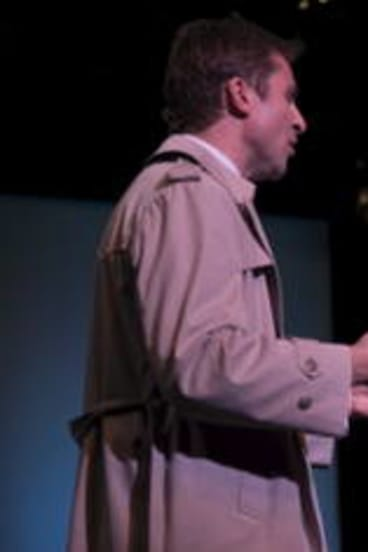 Matt Hetherington and Marina Prior star in <i>Promises, Promises.</i>