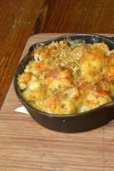 Cauliflower crumble.