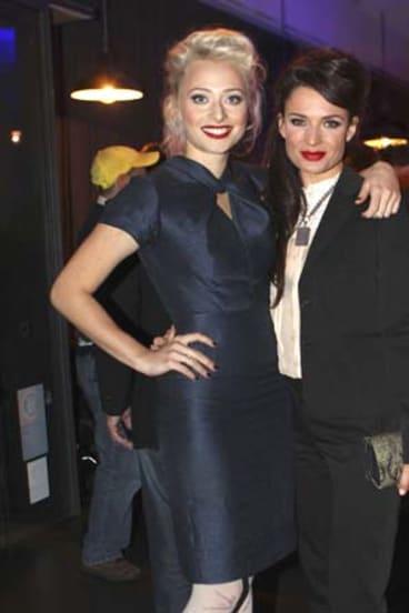 Chelsea Preston-Crayford and Danielle Cormack.