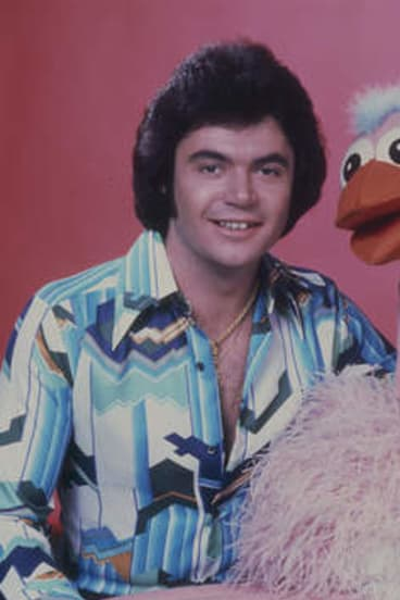 Daryl Somers and Ossie Ostrich.