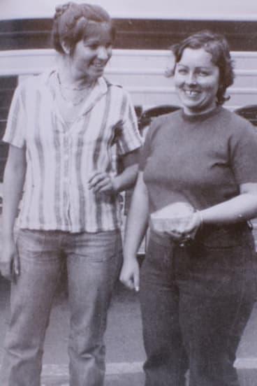 Lorraine Ruth Wilson (left) and Wendy Joy Evans were found murdered after they went missing in 1974.
