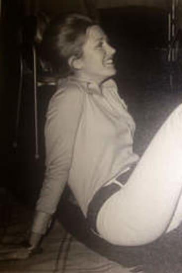 Living in the '70s … Mary-Ellen Field in 1971.