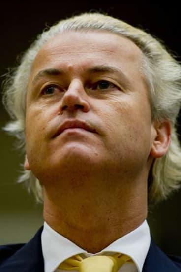 Dutch politician Geert Wilders.