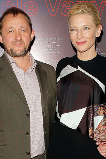 Cate Blanchett and husband Andrew Upton in New York.
