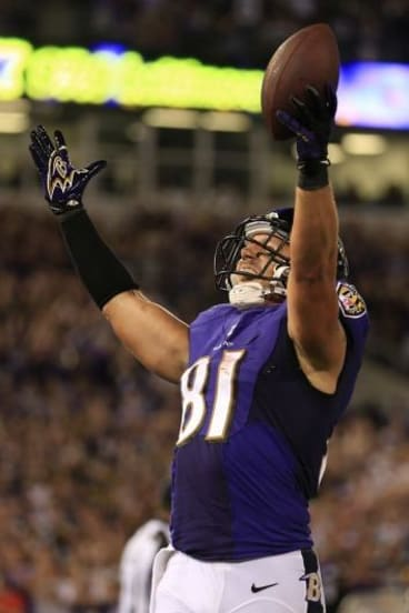 Owen Daniels of the Baltimore Ravens will be among those leading the play for viewers.