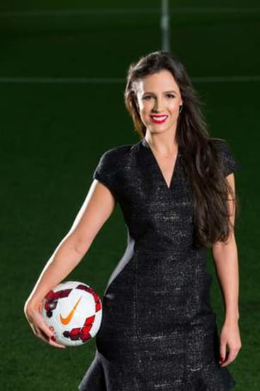 Lucy Zelic was once a Miss Universe Australia finalist.
