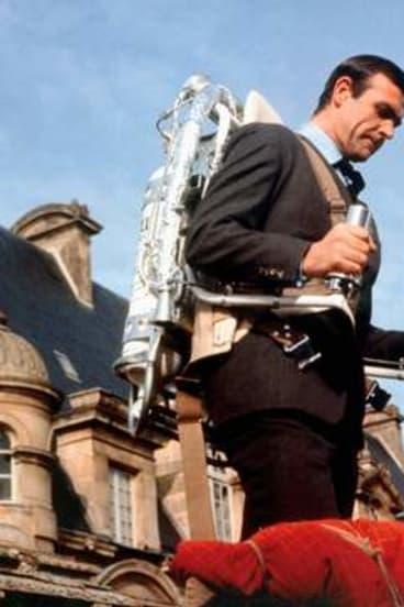 Hopefully jetpacks won't be limited to those like James Bond.