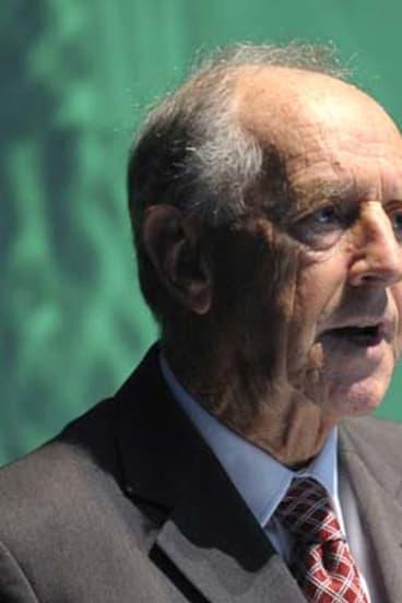 Former premier John Cain.