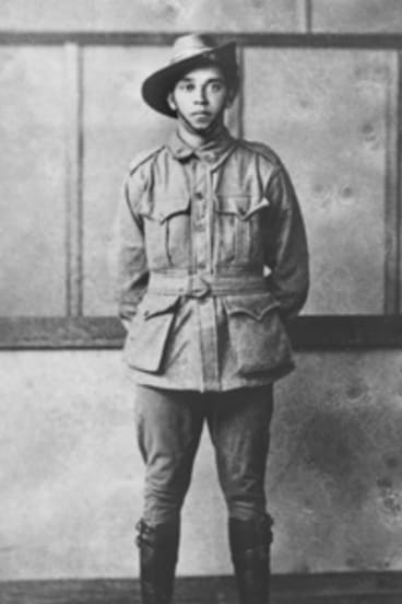 Private Harold Arthur Cowan, 21, was one of many Indigenous soldiers who served in WWI.
