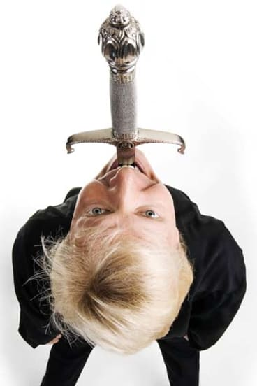 Five times Guinness World Record holder Dan Meyer has swallowed 21 swords simultaneously and one heated to 1500 degrees.