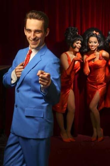 Brush up ... Jack Chambers and castmates from <i>Hairspray</i>.