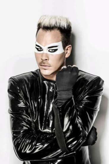 """Luke Steele: """"It began as an electronic extravaganza and I think it would seem strange in small venues."""""""
