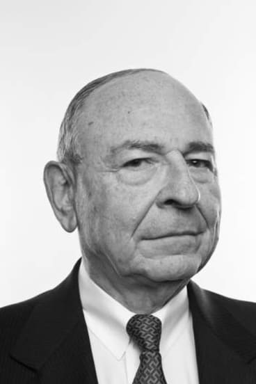 Calm and collected: Maurice Newman.