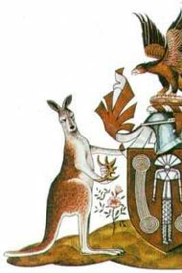 The Northern Territory's indigenous-themed heraldry.
