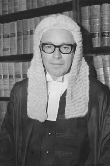 The 'third man' in the Dismissal drama, Sir Anthony Mason.