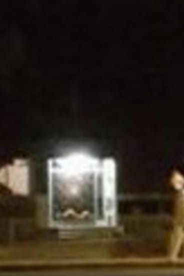 A clown spotted in Emu Plains, according to Facebook group Clown Hunters