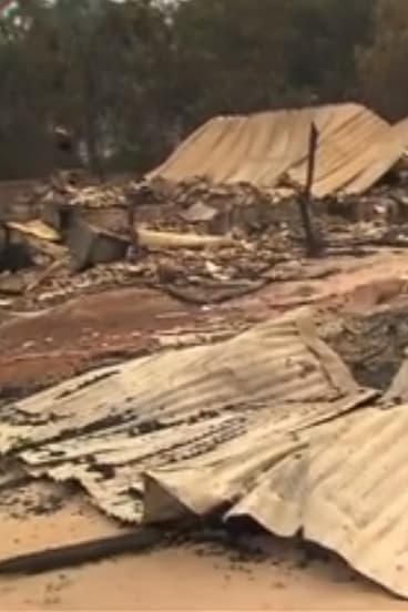 More than 100 homes, businesses and properties have been destroyed by fire in Yarloop.