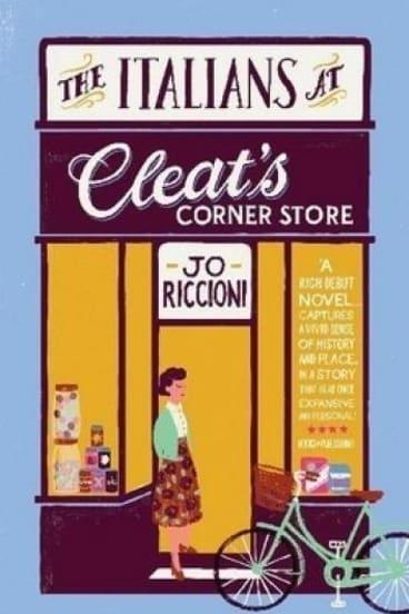 The Italians at Cleat's Corner Store by Jo Riccioni.
