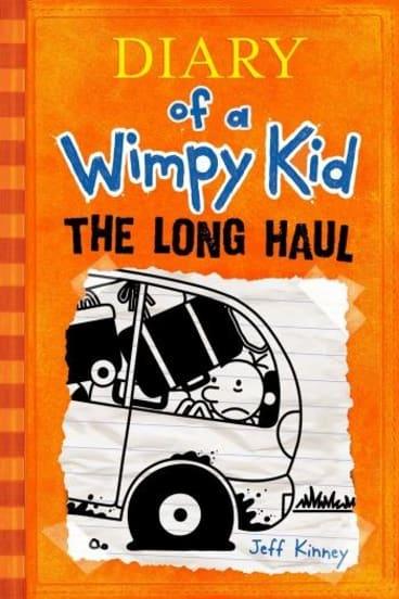 Top seller: The Long Haul, by Jeff Kinney.