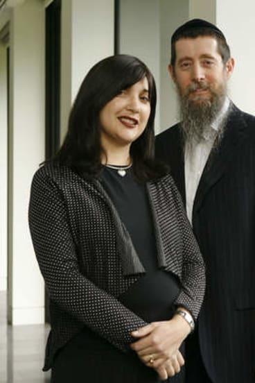 Nicole and Eliezer Kornhauser.