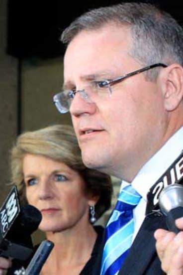 Opposition immigration spokesman Scott Morrison.