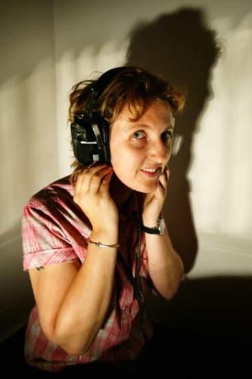 Sound artist Camilla Hannan.