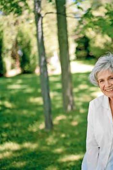 Author Alice Munro.