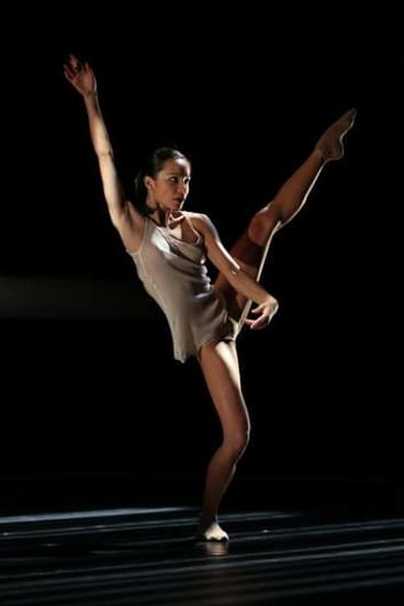 Sydney Dance Company's Charmene Yap performs <I> 2 in D Minor</I>.