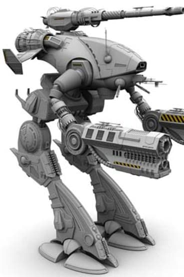 A BattleTech Marauder II.
