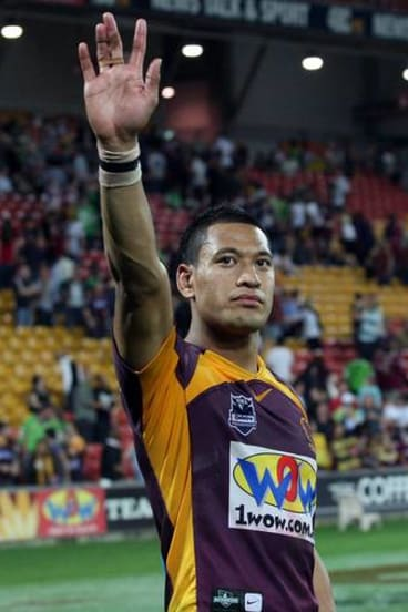 Wouldn't it be great to see Izzy Folau back in a rugby league jersey?