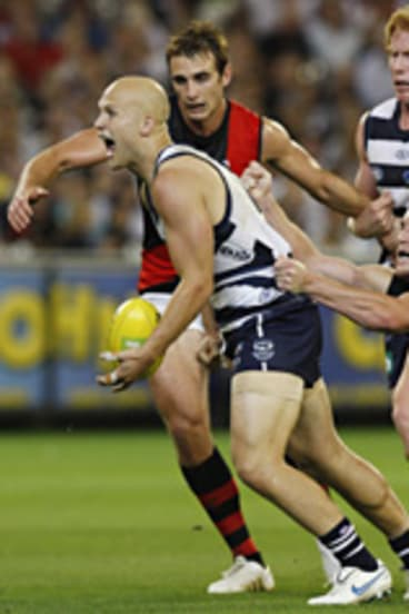 Brownlow Medallist Gary Ablett was among Geelong's best players.