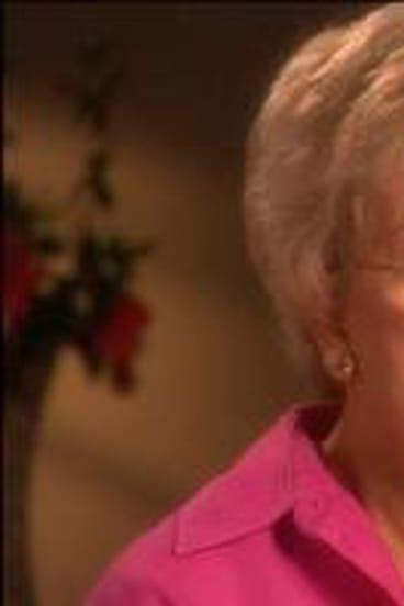 Hazel Hawke revealed she had Alzheimer's disease.